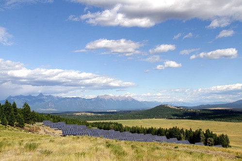 Mining the sun in the shadow of the Rocky Mountains   by Green Energy Futures