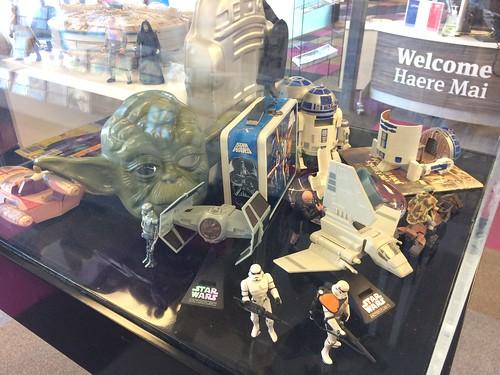 Star Wars toys and memorabilia