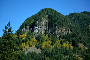 AUTUMN ON THE MOUNTAINS AND HILLS OF THE NORTH CASCADES, HOPE-PRINCETON,  BC.