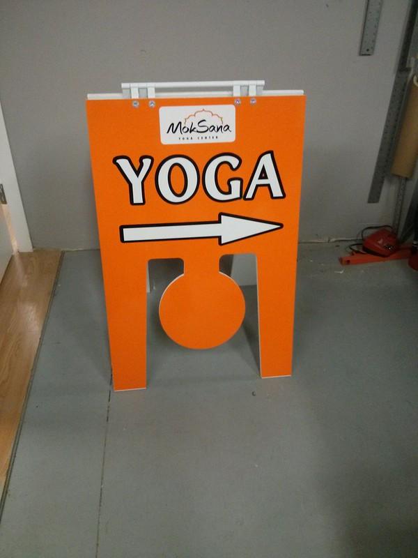 Yoga 1 A frame