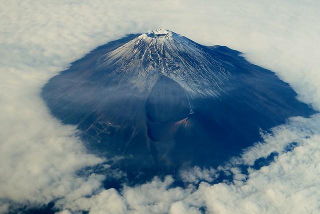 Mt.Fuji - November aerial pic
