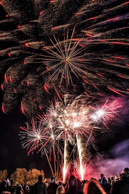 Cambridge firework