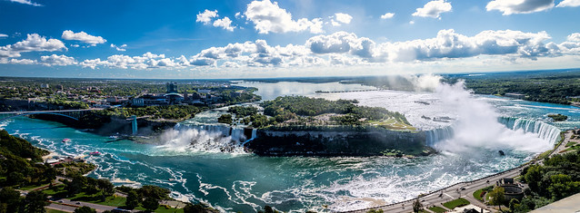 Niagara Falls pano