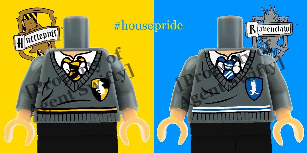 LEGO Hufflepuff & Ravenclaw Custom Printed Torsos Coming S…   Flickr