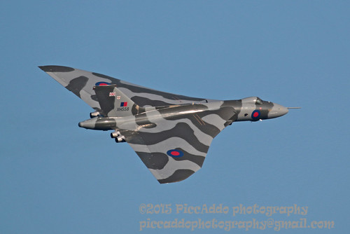 Vulcan XH558 last ever airshow appearance | by Martin D Stitchener PiccAddo Photography