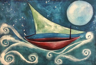 Night Boat   by Cat Sidh