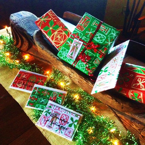 Snappy Holidays cards and gift wrap by Sophista-Tiki | by The Tiki Chick