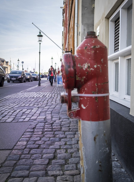 Worldwide Photowalk Copenhagen 2016 - A fire hydrant in Nyhavn