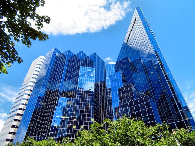 Skyscraper, Montreal, Quebec, Canada