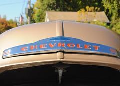 Ballston Spa Car Show: Chevrolet Hood Shield