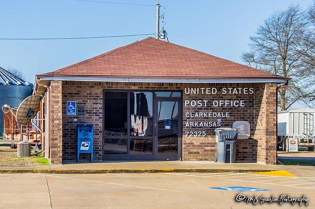 US Post Office   Clarkedale, Arkansas 72325