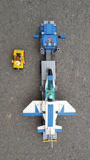 [E LEGO] Lego Speed Build - Lego City 60079 Training Jet Transporter - Bruder Toy Trucks for Kids | by elego3s