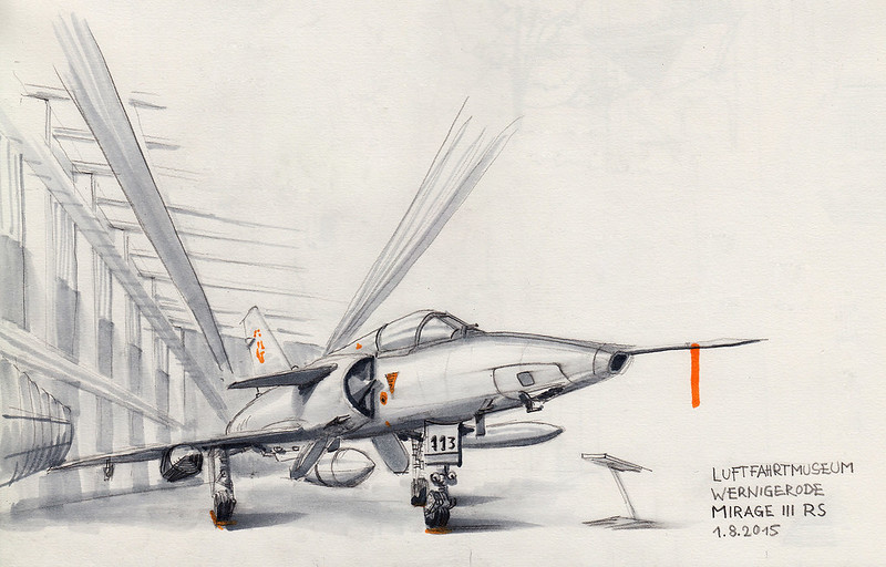 Mirage III RS (Surveillance aircraft, Swiss Air Force)