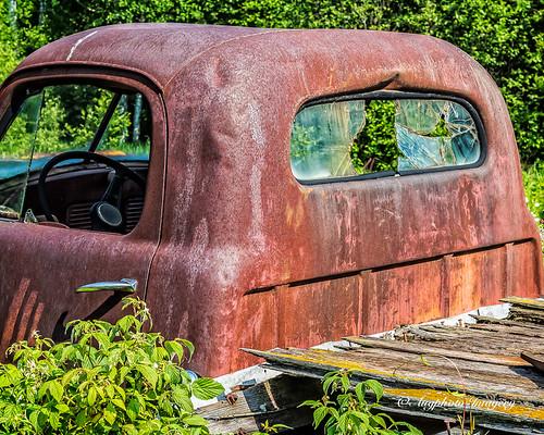 old abandoned minnesota truck unitedstates weathered alborn augphotoimagery