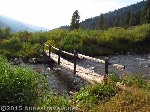Someone has to maintain the bridges... Highline Trail, Wyoming