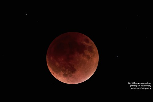2015 Blood Super Moon Eclipse | by Air Butchie Photography