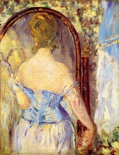 manet_woman_before_mirror_1877   by Art Gallery ErgsArt