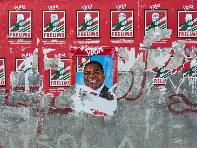 another FRELIMO in the wall