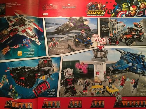 New Captain America: Civil War Promo Art and Lego Set May