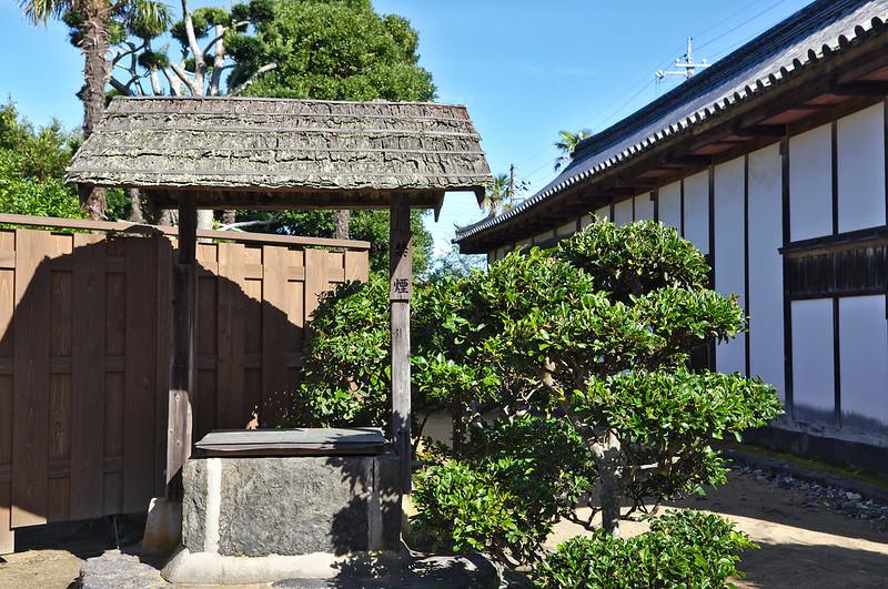 Puit d'une ancienne maison de samouraï