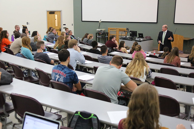 Reid Ribble Visits Political Science Class