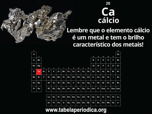 Cálcio é um metal | by emsintese