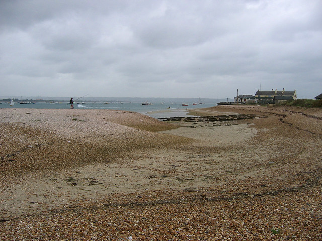 Just south of the Hayling to Eastney Ferry
