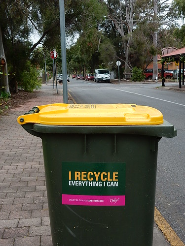Dedicated Rubbish Bin | by mikecogh