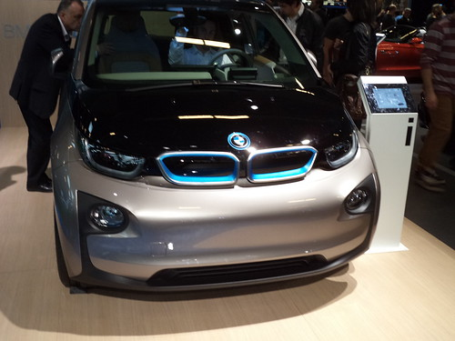 2015 BMW I3 front Photo