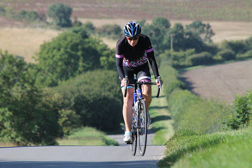 Alison_on_Stoneknowle_Hill | by cycle-seven