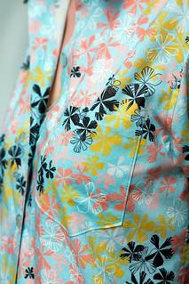Maxiflora Shirt Pocket Detail 1   by ModernPrintCraftLiz