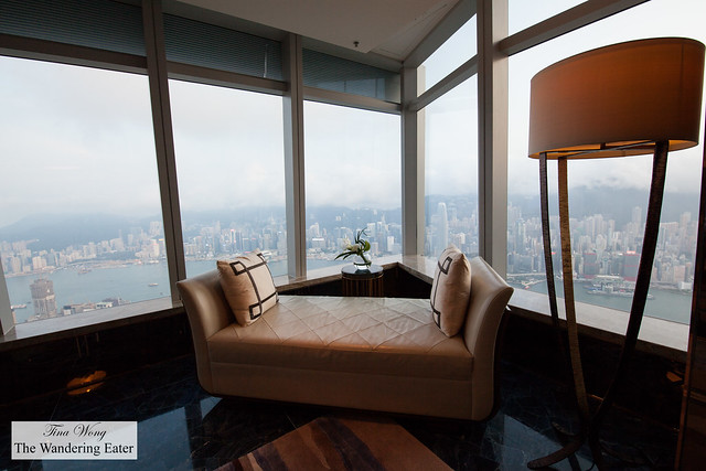 Chaise with the perfect view