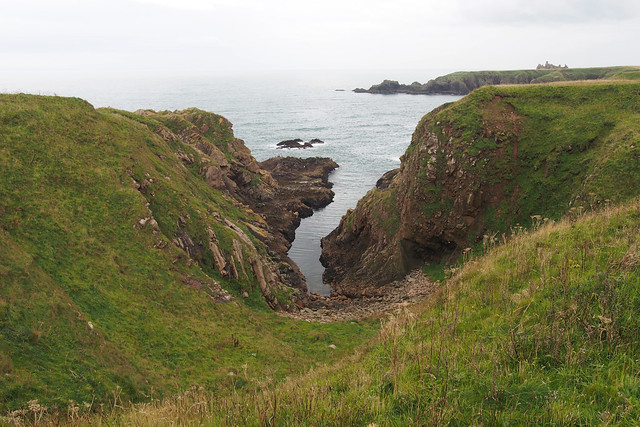 The coast south of Bullers of Buchan