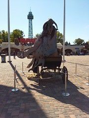Hearse Front View @ Kings Dominion