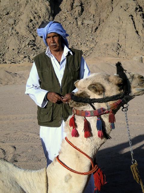 la nostra guida nel deserto del Sinai, Egitto