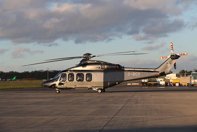 G-DCII AgustaWestland AW139, Profred Partners LLP, Bristol Airport, Lulsgate Bottom, Somerset