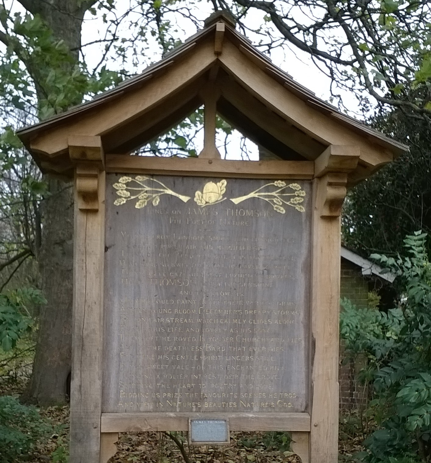 Poets' Corner Near Richmond Hill