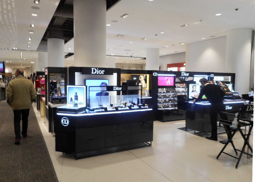 877ca759b ... Dior Cosmetics and Beauty at Flagship Nordstrom store in downtown  Seattle after major remodel | by
