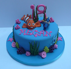 Nemo cake single tier