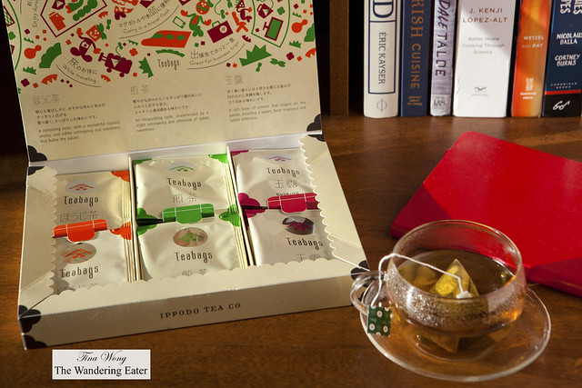 Gift box of Ippodo Green Tea Bag