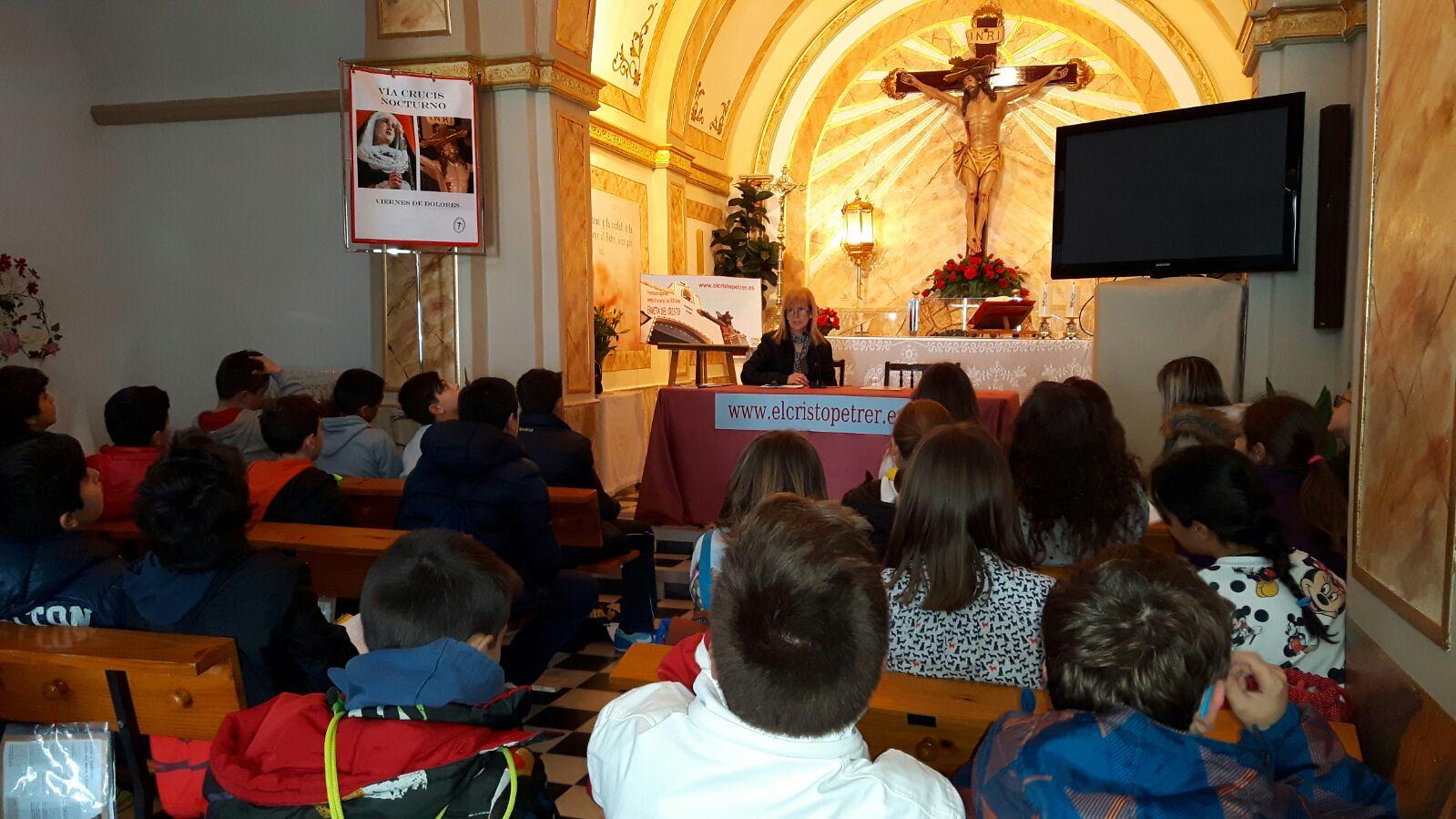 (2016-03-18) - aVisita ermita alumnos Pilar, profesora religión 9´Octubre - María Isabel Berenguer Brotons (10)