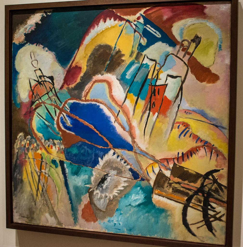 Improvisation No 30 Cannons - Wassily Kandinsky - Cleveland Museum of Art
