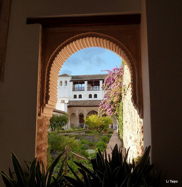 Granada. Arco nazarí