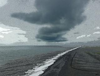 plage de Dirholaey (Island)