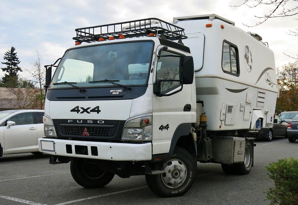 Mitsubishi Fuso FG140 4X4 Truck & Camper | Custom_Cab | Flickr
