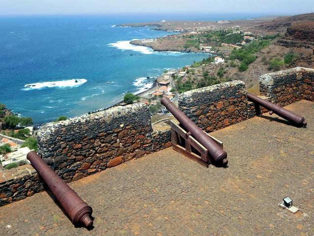 Fort at Cidade Velha