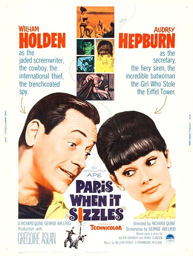 Paris When It Sizzles (1964 / Paramount) 30x40 poster