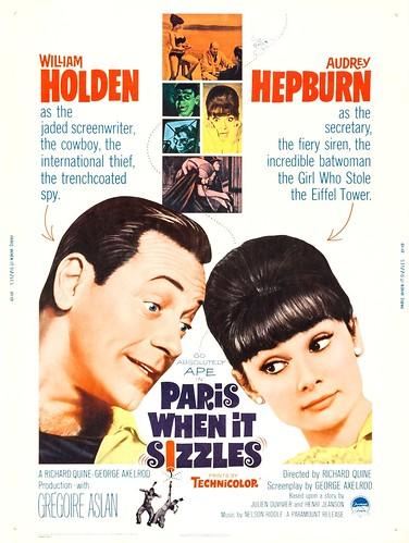 Paris When It Sizzles (1964 / Paramount) 30x40 poster
