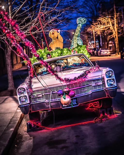 Santa's Cadillac