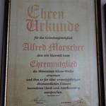 20160711 Ehrenmitglied Alfred Morscher